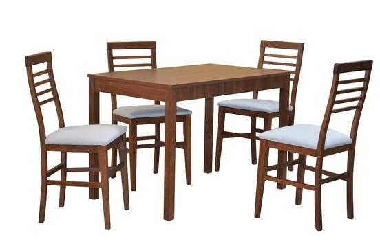 Stôl JUMBO ROZŤAHOVACÍ 1ks + Stolička EASY1 4ks