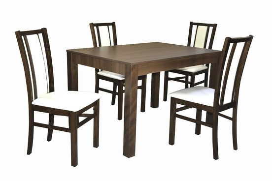 Stôl MONZA PEVNÝ 1ks + Stolička D400 4ks